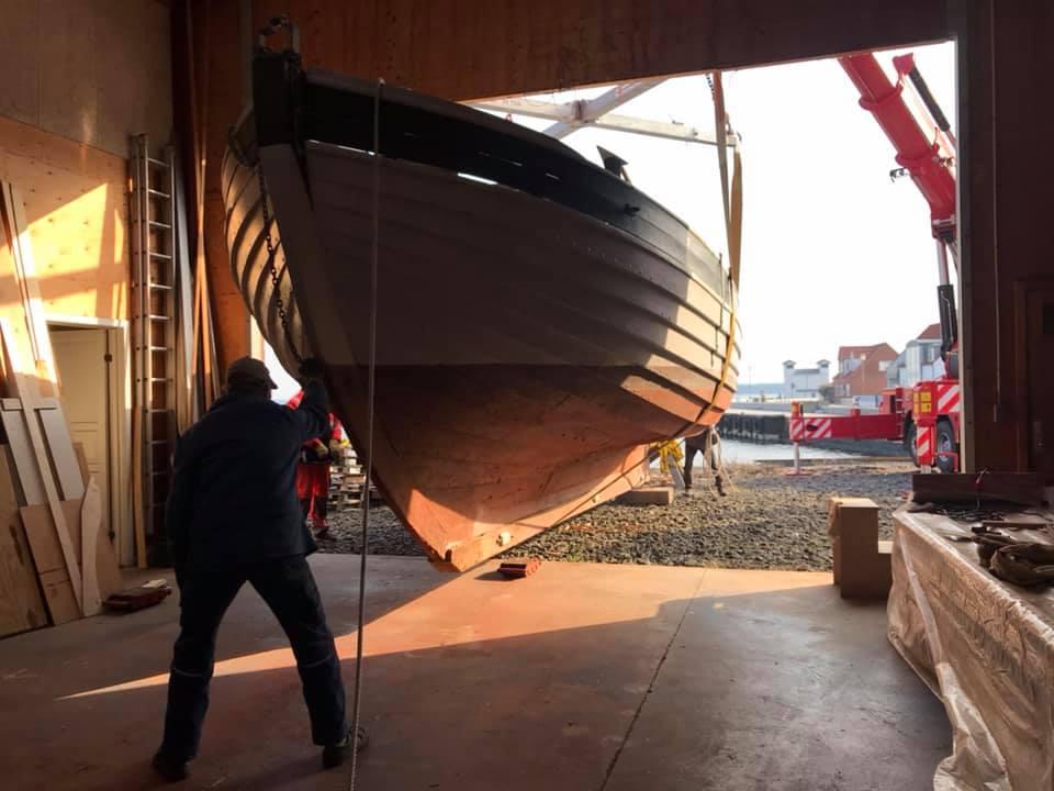 Skibet træskib båd sejlads værft 2